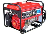 Gasoline Generating Sets power range from 2,8  to 8,2 kVA - BM52E